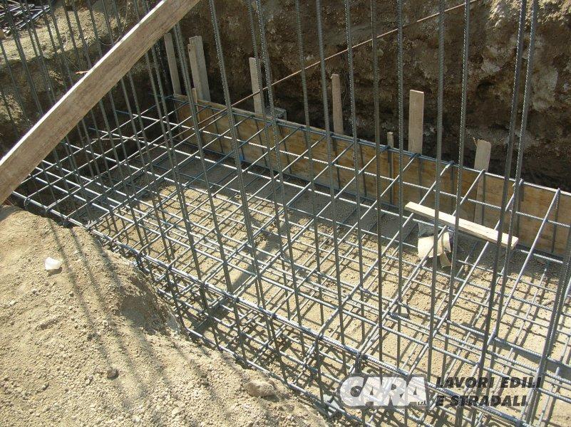 Realizzazione Di Un Muro Di Contenimento In Cls Armato Cara Srl Impresa Edile Costruzione Progettazione Ristrutturazione Nocera Superiore Salerno Campania